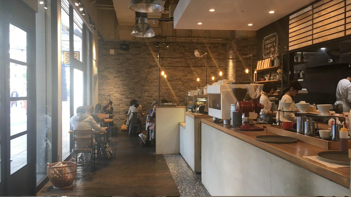 名古屋ノマドにオススメのカフェ、soracafe
